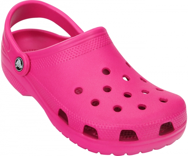 CROCS-Classic-Clogs, candy pink