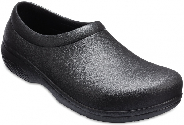 CROCS-On-The-Clock Work Slip-On Clogs, black
