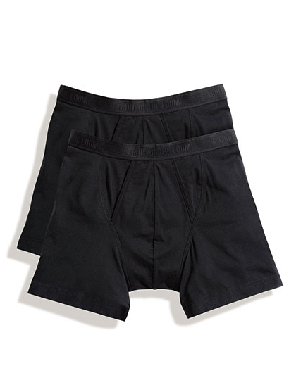 Fruit of the Loom Underwear-Classic Boxer 2er Pack, black
