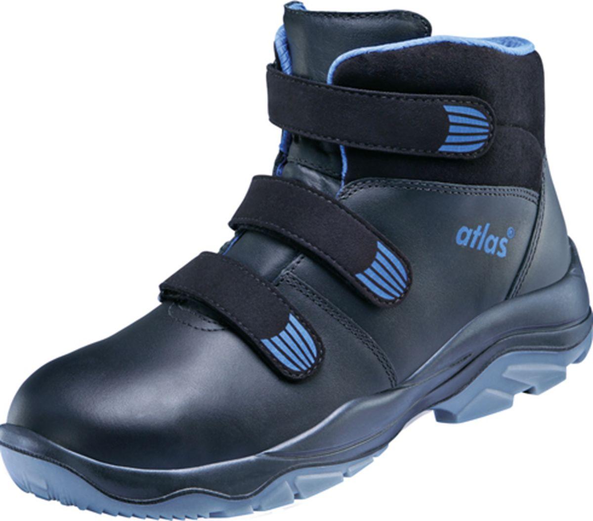 atlas footwear s3 sicherheits arbeits berufs schuhe hochschuhe tx 575 schwarz. Black Bedroom Furniture Sets. Home Design Ideas