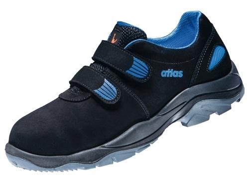 atlas footwear s2 sicherheits arbeits berufs schuhe halbschuhe tx 40 weite 12 schwarz blau. Black Bedroom Furniture Sets. Home Design Ideas