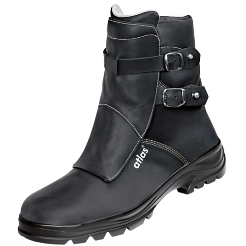 atlas footwear s3 arbeits berufs sicherheits schuhe duo soft 793 hi schwarz. Black Bedroom Furniture Sets. Home Design Ideas
