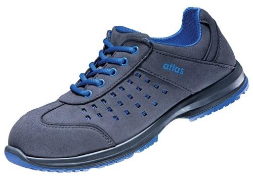 atlas footwear s1 sicherheits arbeits berufs schuhe halbschuhe gx 134 blue esd schwarz blau. Black Bedroom Furniture Sets. Home Design Ideas