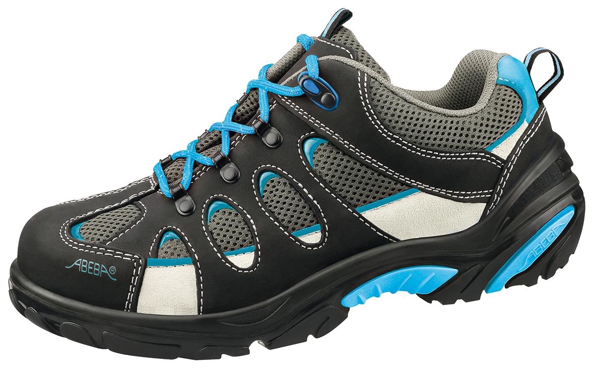 ABEBA Footwear, S1 Damen u. Herren Sicherheits Arbeits Berufs Schuhe, Halbschuhe, schwarzblau