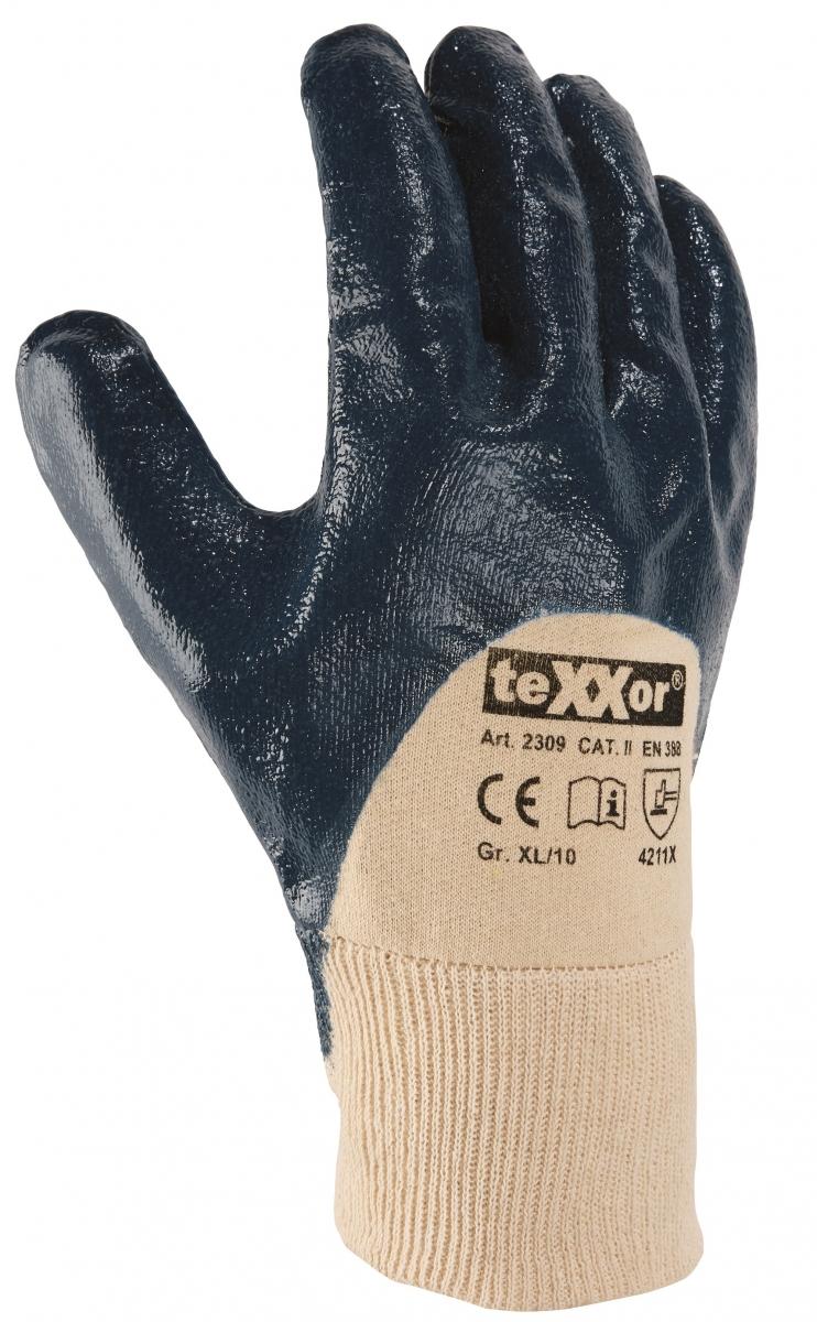 big texxor nitril handschuhe blau bei falano. Black Bedroom Furniture Sets. Home Design Ideas
