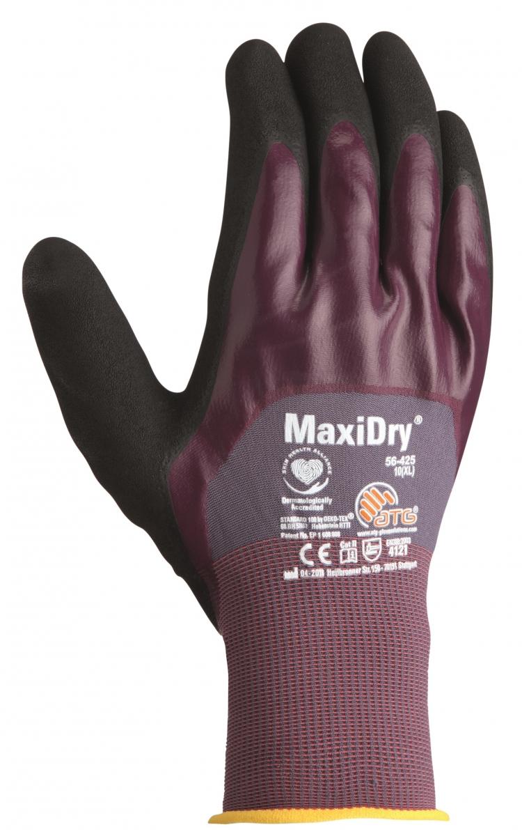 big atg nitril handschuhe maxidry als sb verpackung grau lila schwarz. Black Bedroom Furniture Sets. Home Design Ideas
