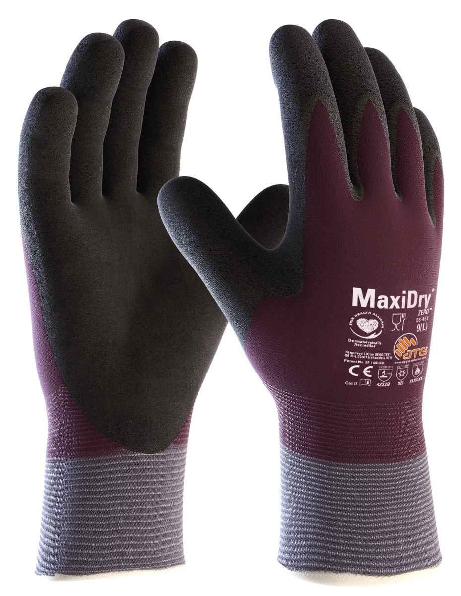 big atg nitril handschuhe maxidry zero als sb verpackung. Black Bedroom Furniture Sets. Home Design Ideas