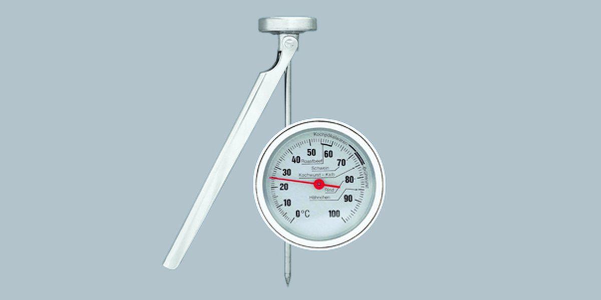 SCHLACHTHAUSFREUND-Fett-Thermometer, Draht, 80 bis 220°C, 80860