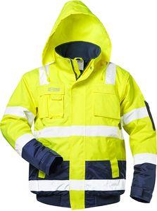 Warnschutzpilotjacke *hasso* Safestyle® Gelb/marine 3xl Eine GroßE Auswahl An Modellen Gr