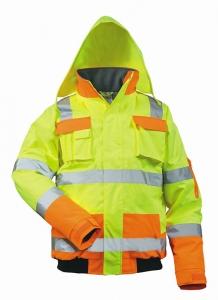Arbeitskleidung & -schutz Kleidung SchöN Warnschutzpilotjacke *hasso* Safestyle® Gelb/marine