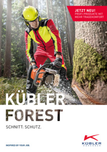 KüblerFOREST2017/19 Katalog